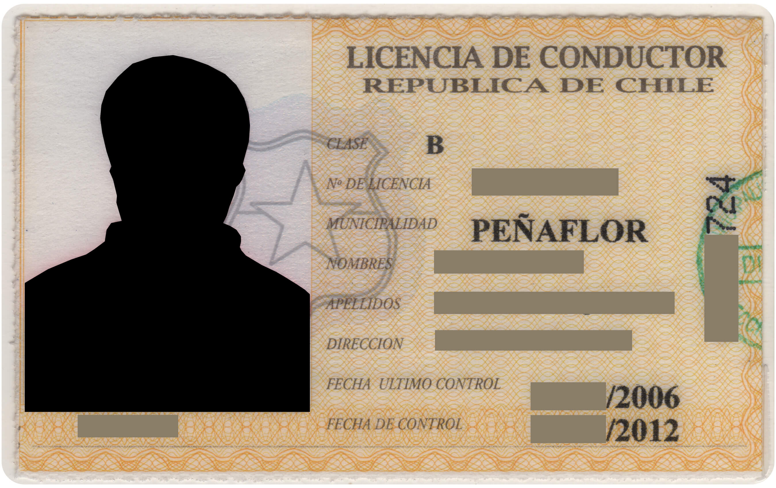 Licencia Clase B