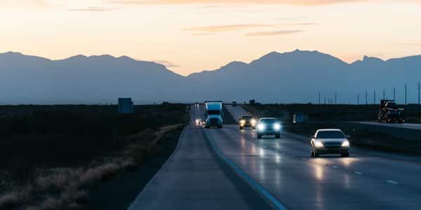 accidente en carretera